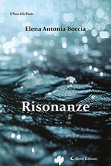 Risonanze - Elena Antonia Boccia - copertina