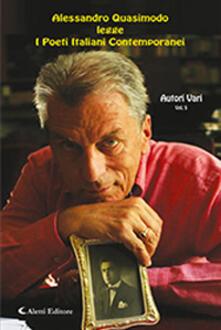 Alessandro Quasimodo legge i poeti italiani contemporanei. Con CD-Audio. Vol. 5 - copertina