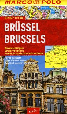 Bruxelles 1:15.000 - copertina