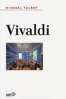 Vivaldi - Michael Talbot - copertina