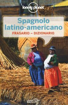 Camfeed.it Spagnolo latino americano. Frasario-dizionario Image
