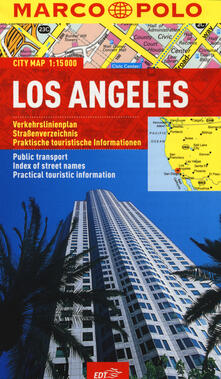 Los Angeles 1:15.000 - copertina