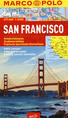 San Francisco 1:15.000 - copertina