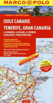 Parcoarenas.it Isole Canarie 1:150.000 Image