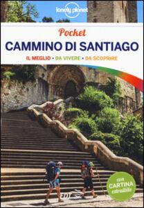 Foto Cover di Cammino di Santiago. Con cartina, Libro di Edurne Baz,Virginia Uzal, edito da EDT