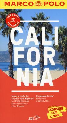 California. Con atlante stradale - Karl Teuschl - copertina