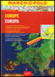 Europa-Europe. 1:2.000.000. Ediz. multilingue - copertina