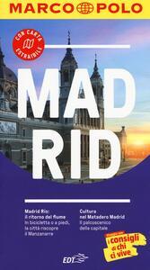 Madrid. Con atlante stradale