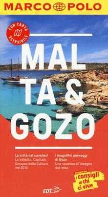 Malta. Gozo. Con atlante stradale - Klaus Bötig - copertina