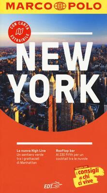 New York. Con atlante stradale - Alrun Steinrueck - copertina