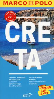 Creta. Con Carta geografica - Klaus Bötig - copertina