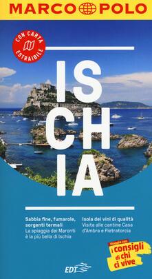 Ischia. Con Carta geografica ripiegata - Stefanie Sonnentag - copertina
