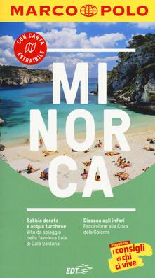 Minorca. Con atlante stradale - Izabella Gawin - copertina