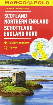 Filippodegasperi.it Scozia, Inghilterra del Nord 1:300.000 Image