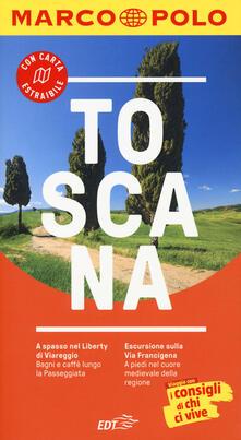 Toscana. Con atlante stradale - Sabine Oberpriller - copertina
