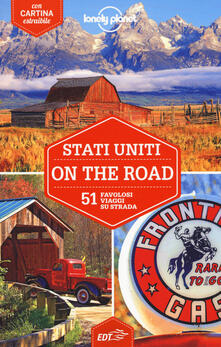 Stati Uniti on the road. 51 favolosi viaggi su strada. Con cartina - copertina