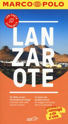 Listadelpopolo.it Lanzarote. Con atlante stradale Image