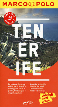 Tenerife. Con Carta geografica ripiegata - Gawin Izabella - wuz.it