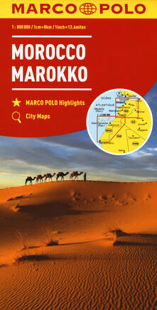 Mercatinidinataletorino.it Marocco 1:800.000. Ediz. multilingue Image