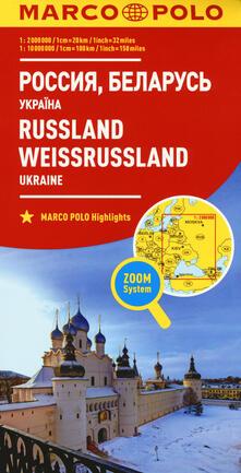 Daddyswing.es Russia, Ucraina, Bielorussia 1:2.000.000. Ediz. multilingue Image