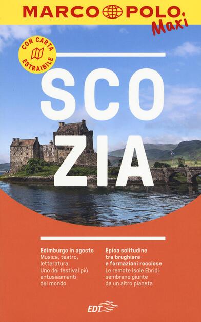 Cartina Geografica Dettagliata Scozia.Scozia Con Cartina Estraibile Amalia Gilodi Libro Marco Polo Marco Polo Maxi Ibs