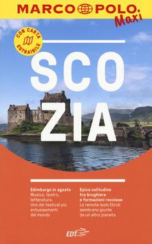 Scozia. Con cartina estraibile - copertina