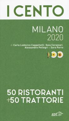 Grandtoureventi.it I cento Milano 2020. 50 ristoranti + 50 trattorie Image