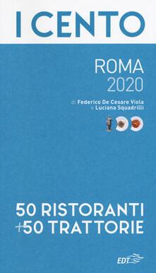 Daddyswing.es I cento di Roma 2020. 50 ristoranti + 50 trattorie Image