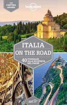 Italia on the road. 40 itinerari alla scoperta del paese. Con cartina - copertina