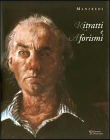 Ritratti e aforismi - Manfredi - copertina