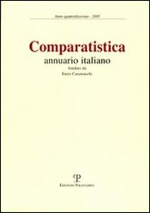 Comparatistica. Annuario italiano 2005