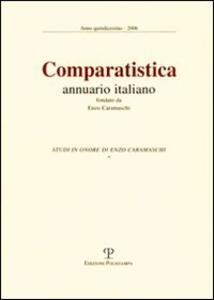 Comparatistica. Annuario italiano 2006