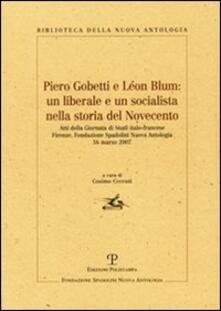 Aboutschuster.de Piero Gobetti e Léon Blum: un liberale e un socialista nella storia del Novecento Image