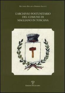 Festivalpatudocanario.es L' archivio postunitario del Comune di Magliano in Toscana Image