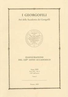 Antondemarirreguera.es I Georgofili. Atti della Accademia dei Georgofili. Vol. 6\1: Inaugurazione del 256° anno accademico (Firenze, 21 marzo 2009). Image