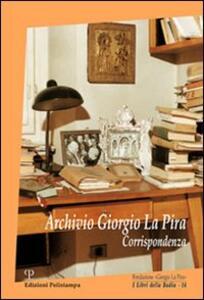 Archivio Giorgio La Pira. Corrispondenza