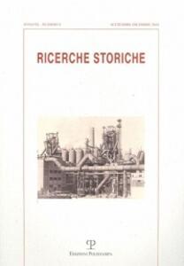 Ricerche storiche (2010). Vol. 3