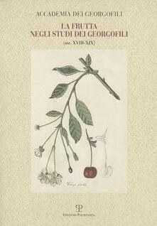 Osteriacasadimare.it La frutta negli studi dei georgofili sec. XVIII-XIX Image