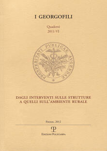 Warholgenova.it Dagli interventi sulle strutture a quelli sull'ambiente rurale. Atti del Convegno (Firenze, 15 marzo 2011) Image