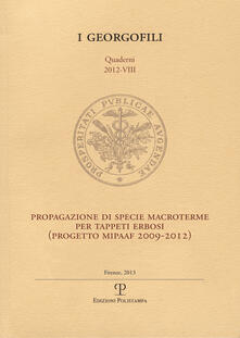 Lpgcsostenible.es Progetto di specie macroterme per tappeti erbosi. Progetto MIPAAF 2009-2012 Image