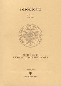 Agricoltura e uso razionale dell'acqua
