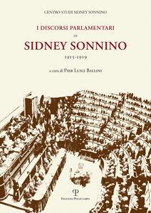 I discorsi parlamentari. Parlamentario di Sidney Sonnino 1915-1919