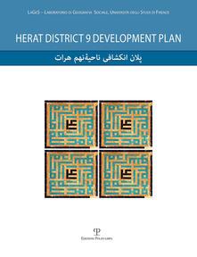 Antondemarirreguera.es Herat district 9 development plan. Con DVD Image