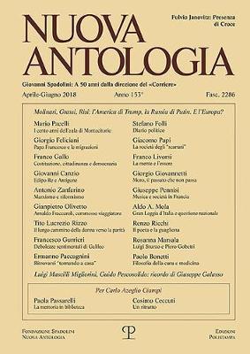 Image of Nuova antologia (2018). Vol. 2: Aprile-Giugno.
