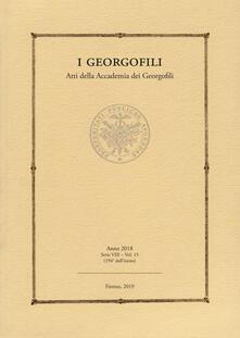 Winniearcher.com I georgofili. Atti della Accademia dei Georgofili (2018). Vol. 15 Image