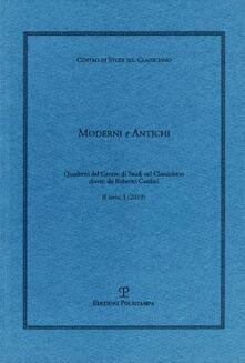 Fondazionesergioperlamusica.it Moderni e antichi (2019). Vol. 1 Image