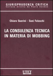 La consulenza tecnica in materia di mobbing