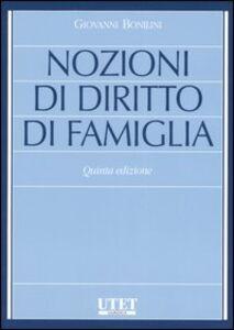 Nozioni di diritto di famiglia