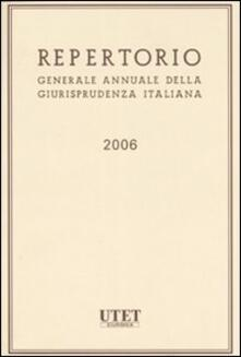 Repertorio generale annuale della giurisprudenza italiana 2006: Indici..pdf