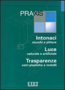 Praxis: Intonaci, stucchi e pitture-Luce naturale e artificiale-Trasparenze, vetri plastiche e metalli. Con CD-ROM